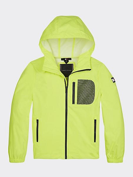 TOMMY HILFIGER TH Kids Hooded Neon Jacket