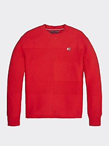 American Flag E Print Newborn Kids Crew Neck Sweater Long Sleeve Warm Knitted Top Blouse