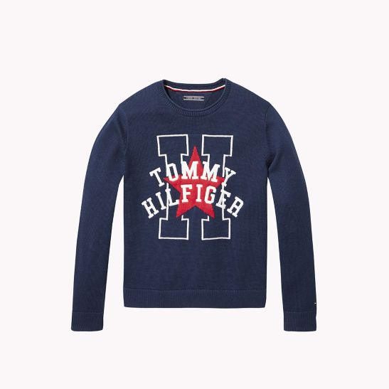 Th Kids Star H Sweater Tommy Hilfiger