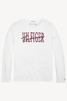 bd9ee830 Girls T-Shirts, Polos & Shirts | Tommy Hilfiger USA