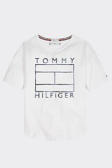 Tommy Hilfiger Junior T shirt Con Logo Kids 080 Safety