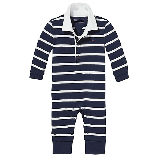 3581a787 TH Baby Stripe Coverall | Tommy Hilfiger