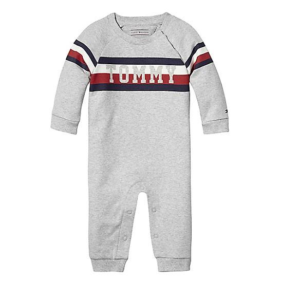 spätester Verkauf offizieller Shop Factory Outlets TH Baby Signature Overall | Tommy Hilfiger
