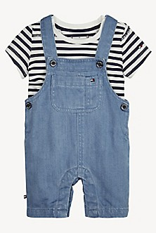 947bfe6cbf7 TH Baby 2-in-1 Overall And T-Shirt