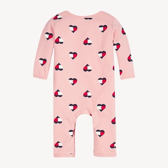 TH Baby Hearts Print Onesie