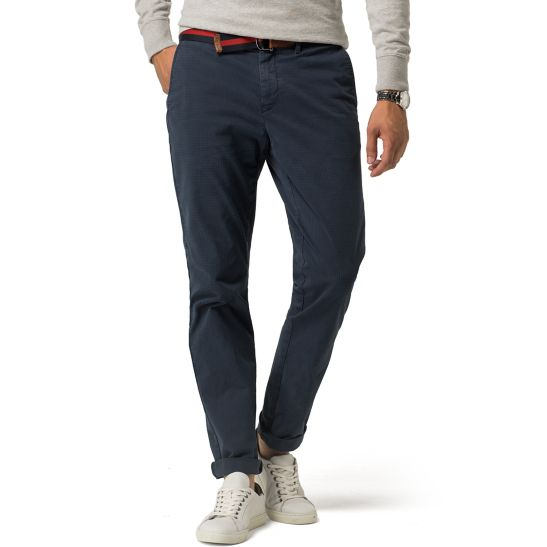 Fitted Straight Leg Chinos - Sales Up to -50% Tommy Hilfiger