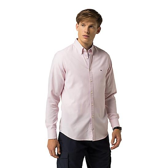 e7c4475e Slim Fit Stretch Oxford Shirt | Tommy Hilfiger
