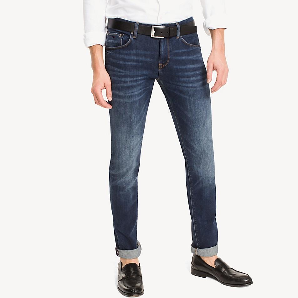 Slim Fit High Contrast Jean