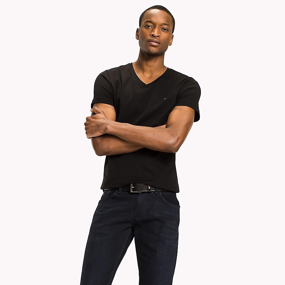 Stretch Slim Fit V-Neck T-Shirt