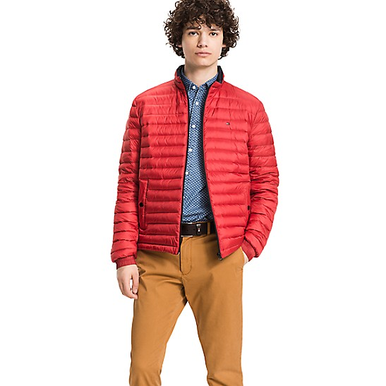 e76519261 Packable Down Bomber | Tommy Hilfiger