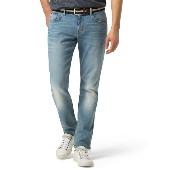 Light Wash Straight Fit Jeans - Sales Up to -50% Tommy Hilfiger