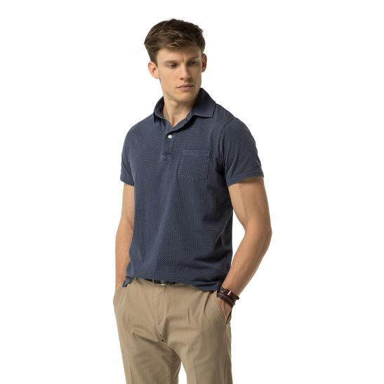 Garment-Dye Slim Fit Polo - Sales Up to -50% Tommy Hilfiger