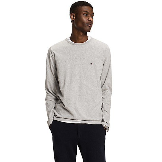 118cd255b Classic Long-Sleeve Tee | Tommy Hilfiger