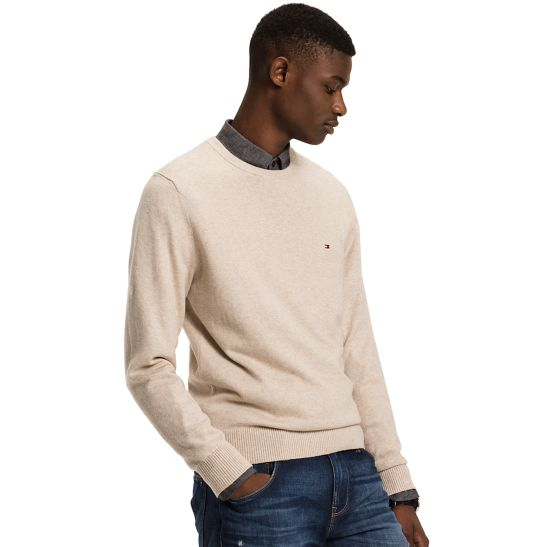 Classic Lightweight Cotton Jumper S - Sales Up to -50% Tommy Hilfiger