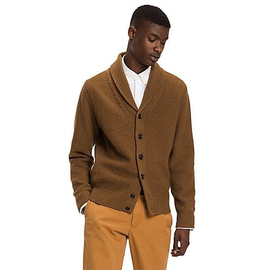 SALE Wool Shawl Collar Cardigan ffed7b5bf