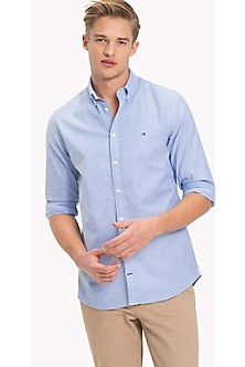 35876d6d Cotton Oxford Stretch Shirt. Quick View for Cotton Oxford Stretch Shirt. NEW.  TOMMY HILFIGER