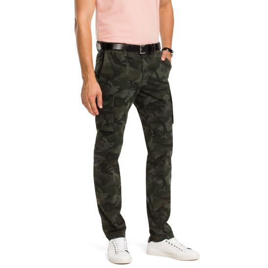 Slim Fit Cargo Trousers - Sales Up to -50% Tommy Hilfiger