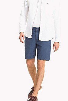Sale For Cheap Hickory Stripe Denim Shorts - Sales Up to -50% Tommy Hilfiger Shopping Online Clearance UAMI9duK