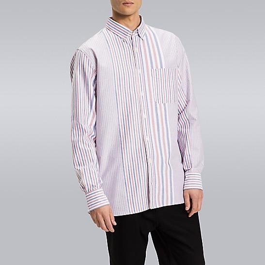 SALE Block Stripe Shirt ff0ceaad6