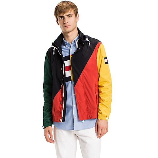Main Image Tommy Hilfiger 90s Colorblock Rugby Shirt