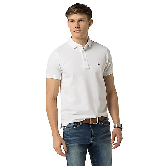 4a2a30bba08c8 SALE Slim Fit Luxury Pique Polo