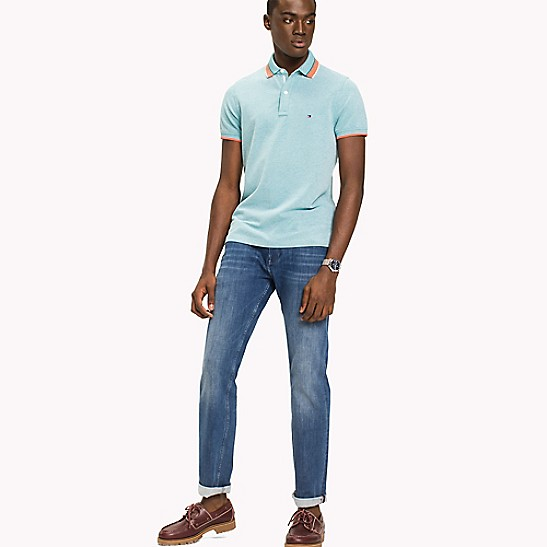 Tipped Slim Fit Stretch Polo | Tommy Hilfiger