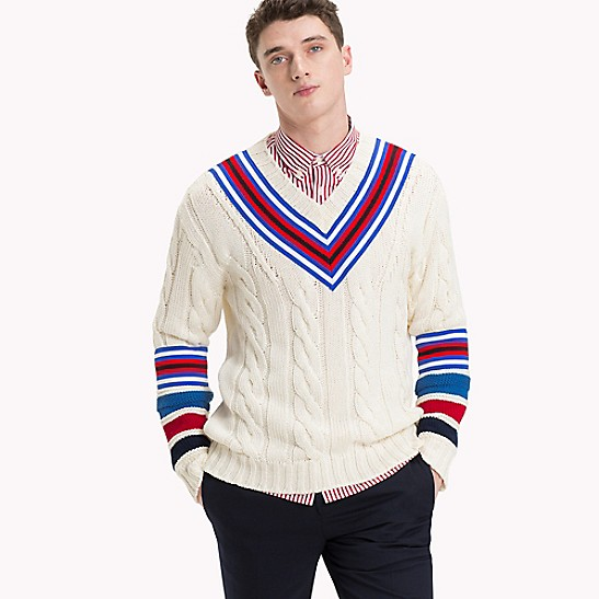 f742ebcc71c Cableknit Cricket Sweater | Tommy Hilfiger