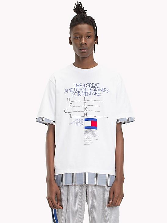 Tommy Hilfiger Boys Billboard Logo Tee Shirt