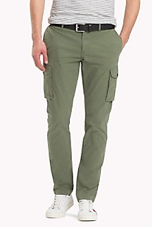 Straight Fit Textured Chinos - Sales Up to -50% Tommy Hilfiger FfL5zTMjl