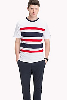 Latest Collections Cheap Online Outlet New Arrival Tropical Graphic Stripe Tee - Sales Up to -50% Tommy Hilfiger PBe2qRhLd