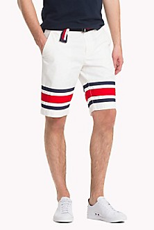 Bamboo Print Chambray Shorts - Sales Up to -50% Tommy Hilfiger Cheap Sale Official Pay With Visa XKzrgvr
