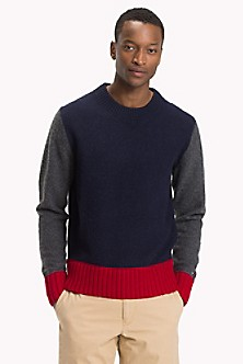 c90ac1549d0a92 Wool Crewneck Sweater. Quick View for Wool Crewneck Sweater. FINAL SALE. TOMMY  HILFIGER