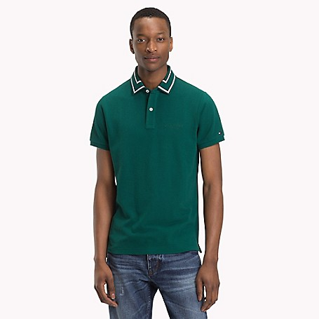 973d1bed Tipped Collar Pique Polo | Tommy Hilfiger