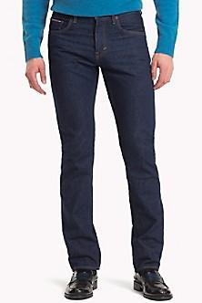 Plaid Cuff Regular Fit Jean