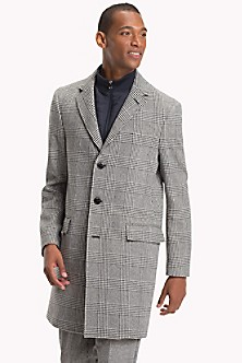 2c631626a Glen Plaid Layered Topcoat. Quick View for Glen Plaid Layered Topcoat.  FINAL SALE. TOMMY HILFIGER