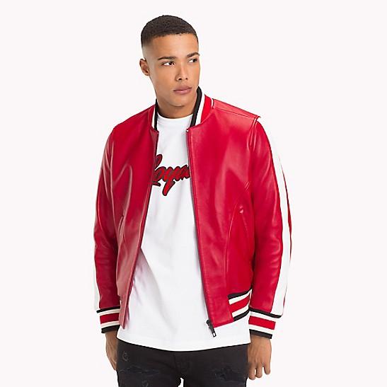abbcf99bc Lewis Hamilton Football Jacket | Tommy Hilfiger