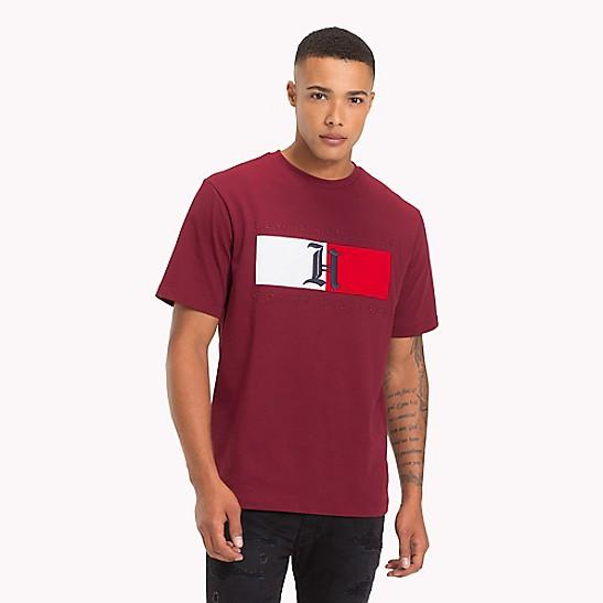 b63e986e0 Lewis Hamilton Flag T-Shirt | Tommy Hilfiger