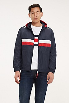 6ea3b4184 TH Stripe Hooded Windbreaker