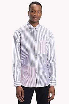 a1b50d1ebdece9 Cotton Twill Patchwork Shirt