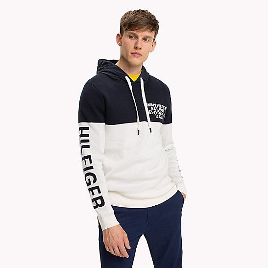 Frisk Nautical Hooded Sweater | Tommy Hilfiger VE-14