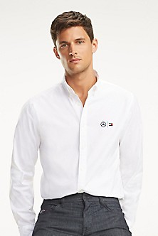 Men S Casual Shirts Tommy Hilfiger Usa