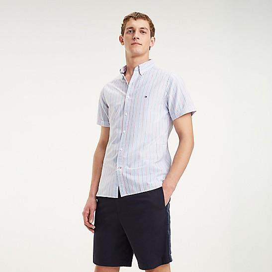 126e64a91 Short-Sleeve Stripe Oxford Shirt