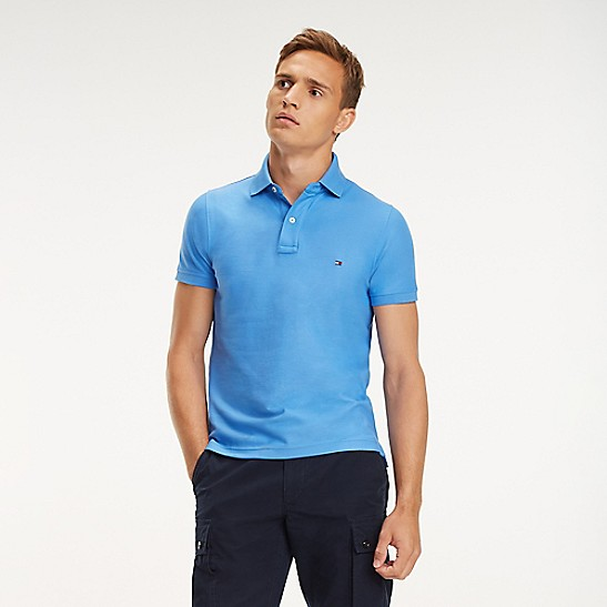 Slim Fit Essential Pique Polo  037ade6e4f