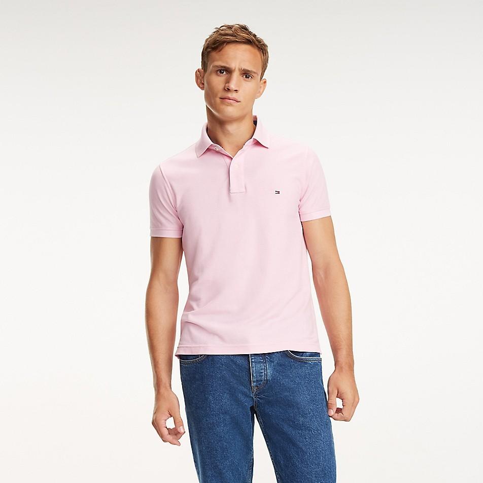 SALE Slim Fit Pique Cotton Polo