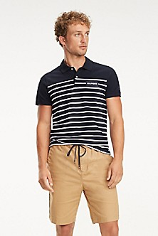 10ba834ec Slim Fit Nautical Stripe Polo