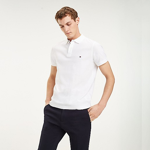 9a99a401 Slim Fit Essential Pique Polo | Tommy Hilfiger