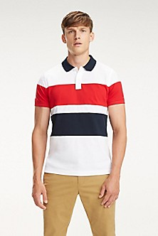 7b1c3030e Slim Fit Colorblock Polo. Quick View for Slim Fit Colorblock Polo. NEW TO  SALE. TOMMY HILFIGER