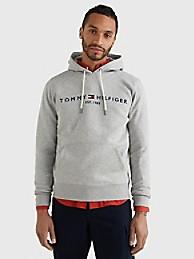 타미 힐피거 맨 후드티 Tommy Hilfiger Signature Logo Hoodie,cloud heather