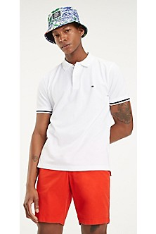 c02557fe3df Pique Cotton Tipped Polo