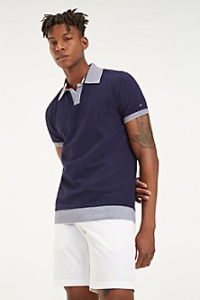 600bdac8 Contrast Trim Slim Fit Polo. Quick View for Contrast Trim Slim Fit Polo. NEW.  TOMMY HILFIGER